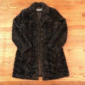Size Medium faux fur jacket